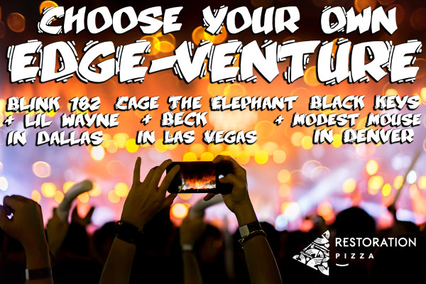 None -  Choose Your Own EDGE Venture with 104.1 The Edge
