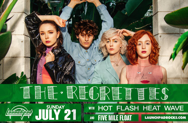 Win Tickets and Soundcheck Party Passes for The Regrettes