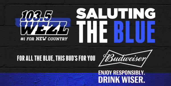 None -  Saluting The Blue with Budweiser