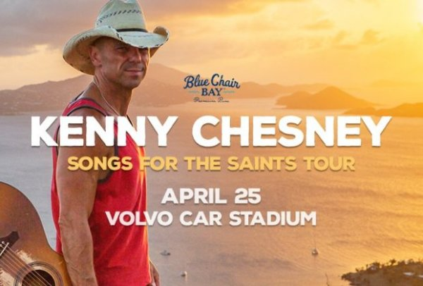 None - Kenny Chesney Songs For The Saints Tour