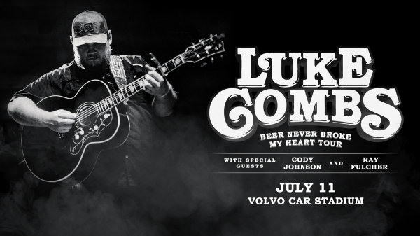 None - Luke Combs, Thursday, July 11th at Volvo Car Stadium