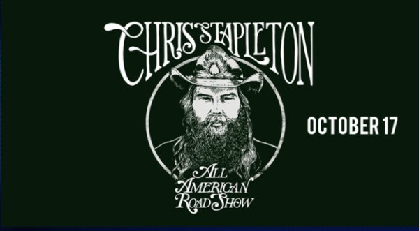 None - Chris Stapleton's 2019 All-American Road Show