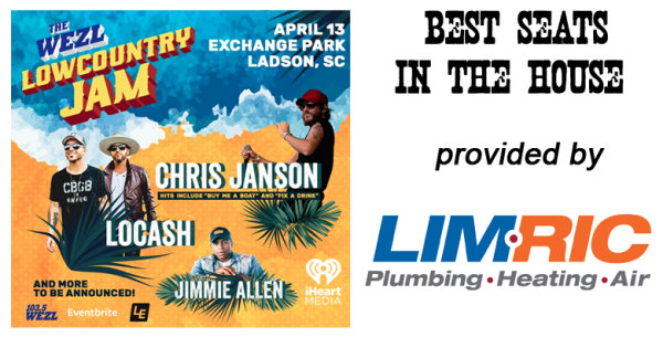 None -  Lowcountry Jam Best Seats in The House provided by LimRic Plumbing Heating and Air