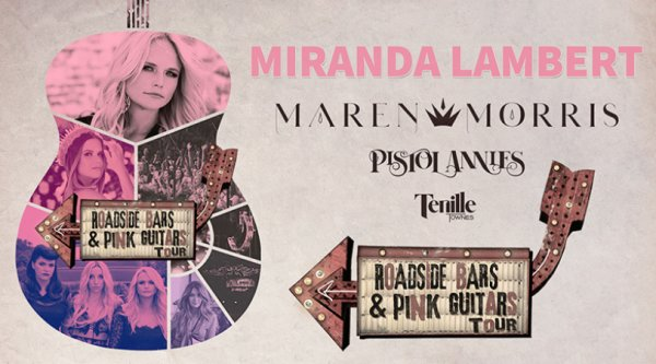 None - Miranda Lambert Roadside Bars and Pink Guitars Tour