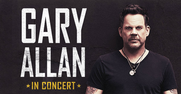 None - Gary Allan at the PAC