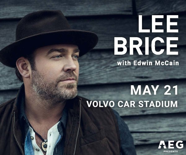 image for Lee Brice with Edwin McCain