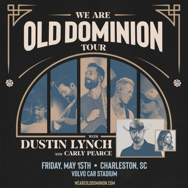 image for Old Dominion with Dustin Lynch and Carly Pearce, Friday, May 15th at Volvo Car Stadium