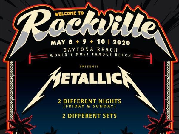 None - Welcome To Rockville- Metallica - 2 Nights- Daytona!