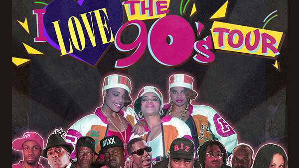 Enter to Win Tickets to Real 106.1 I Love The 90s Show at BB&T Pavilion on August 24th