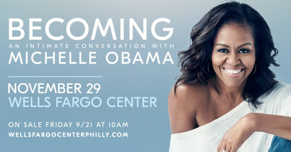 None - Win tickets to see Michelle Obama
