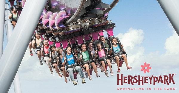 None - Win a 4-Pack Season Pass to Hersheypark!