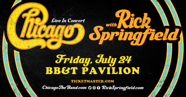 None - Register To Win A Pair Of Chicago & Rick Springfield Tickets!