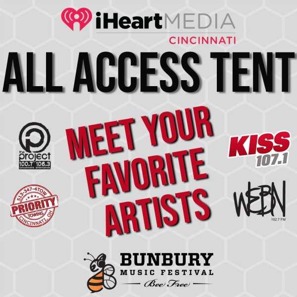 iHeartMedia ALL ACCESS Tent at Bunbury 2019!