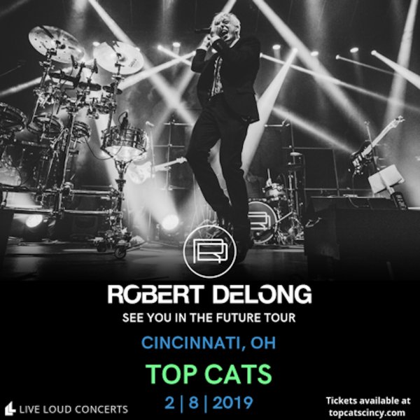 None - Win a pair of tickets to see Robert Delong at Top Cats!