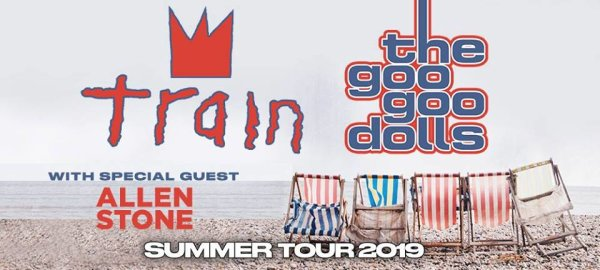 None - Win a pair of tickets to see Train + Goo Goo Dolls at Riverbend Music Center!