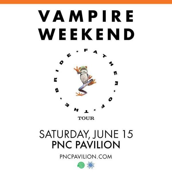None - Win a pair of tickets to see Vampire Weekend at PNC Pavilion!