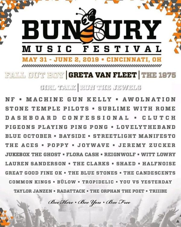 Win 3-Day Weekend Passes to the 2019 Bunbury Music Festival!