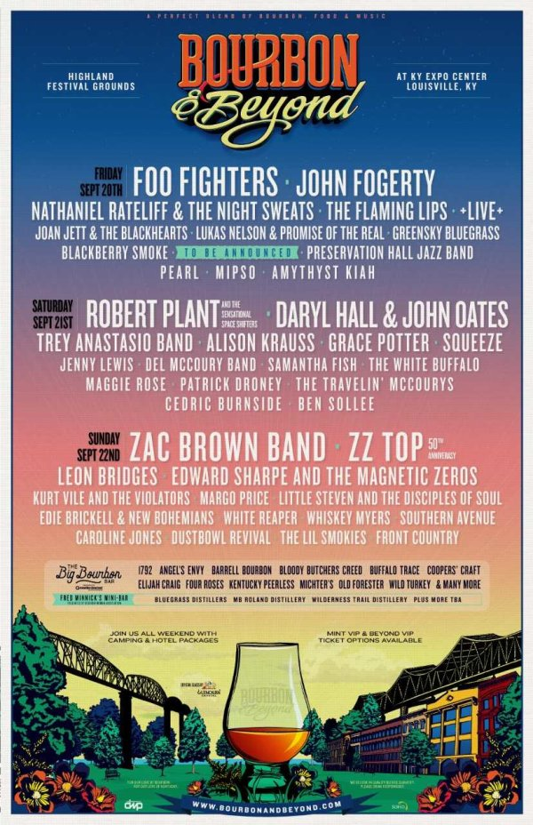None - Win a pair of three-day GA passes to Bourbon and Beyond!