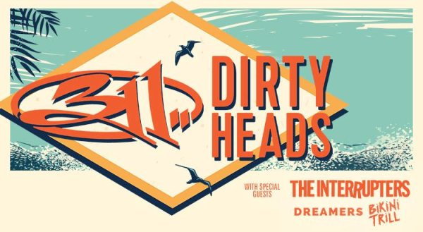 None - Win a pair of tickets to see 311 & The Dirty Heads at Rose Music Center!