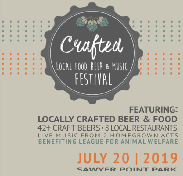 None - Win a pair of tickets to the 2019 Crafted Festival!