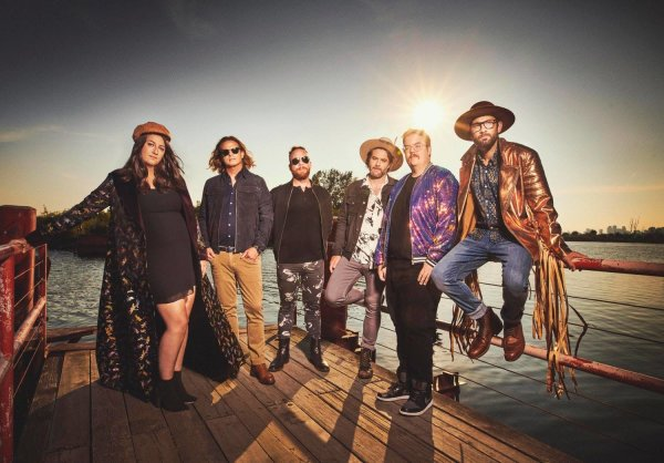 None - Win a pair of tickets to see The Strumbellas at Newport Music Hall!