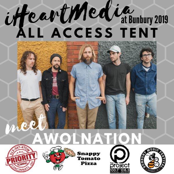 None - Meet AWOLNATION at Bunbury 2019!