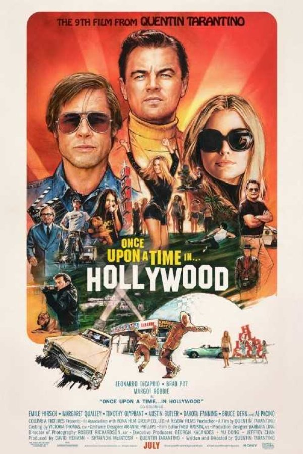 None - Win a pair of advance screening passes to see Once Upon a Time in... Hollywood before it hits Theaters!
