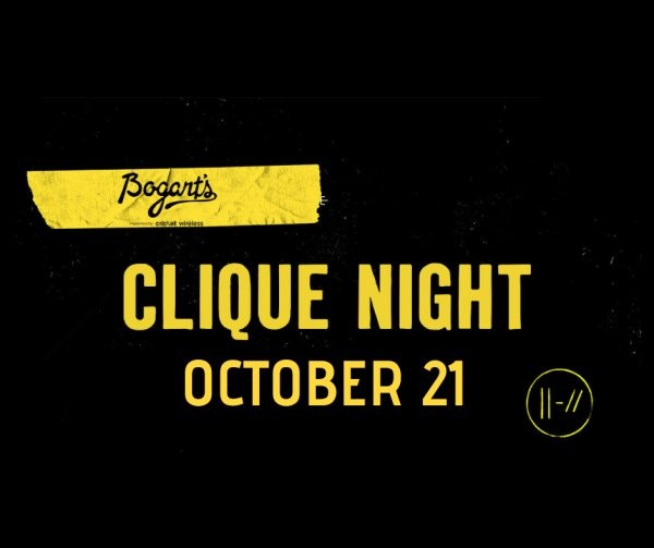 None - Win a pair of tickets to Clique Night!