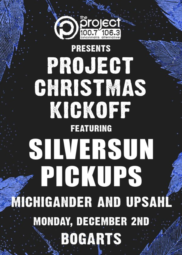 None - Win tickets to Project Christmas Kickoff featuring Silversun Pickups!
