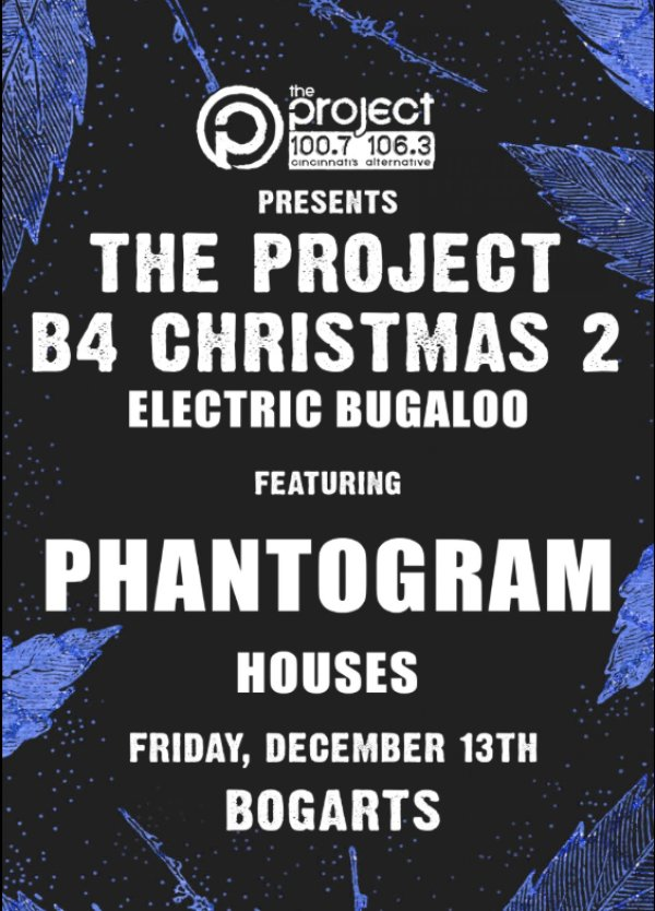 None - Win tickets to The Project B4 Christmas 2 ft. Phantogram on December 13th!