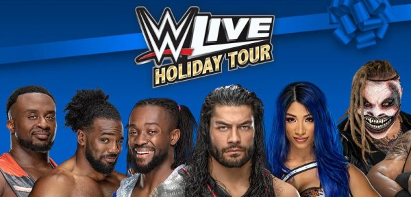 None - Win tickets to WWE LIVE on Dec 26th!