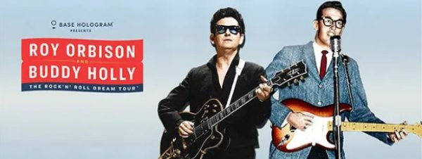 None - WIN Roy Orbison + Buddy Holly The Rock N Roll Dream Tour Tickets!