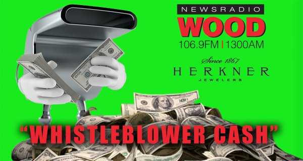 "None - Win Your Share Of ""Whistleblower Cash"""