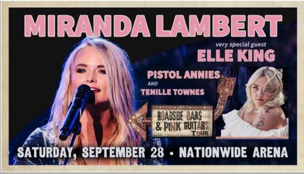 None - Miranda Lambert Ticket Giveaway!