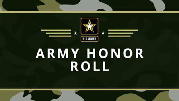 None - T102 Army Honor Roll