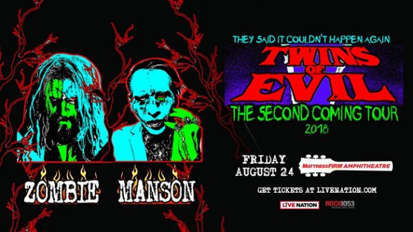 Win Rob Zombie and Marilyn Manson Tickets