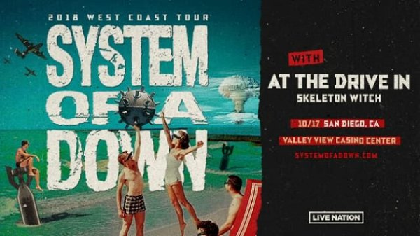 Win System Of A Down Tickets
