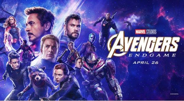 None - Win Avengers: Endgame Tickets