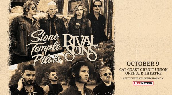 Win Stone Temple Pilots and RIVAL SONS Tickets