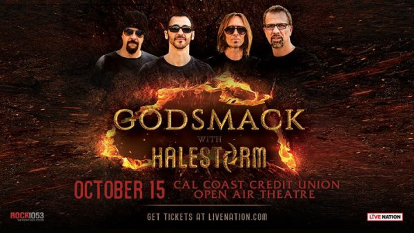 None - Win Godsmack with Halestorm Tickets