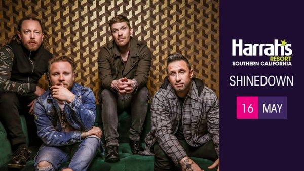 None - Win tickets to Shinedown at Harrah's Resort SoCal
