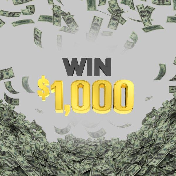 None - Easy Money, Win $1,000