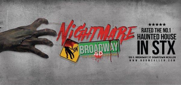 None - Win Nightmare on Broadway Passes!