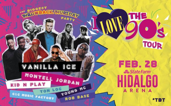 None - THE I LOVE THE 90'S TOUR, THE ULTIMATE THROWBACK SHOW