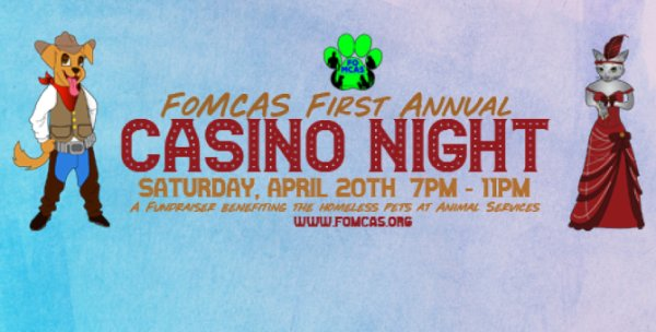None - FOMCAS Casino Night Tickets