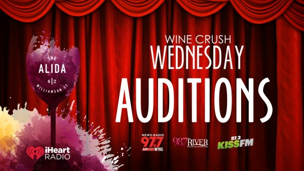 None - Wine Crush Wednesday Auditions