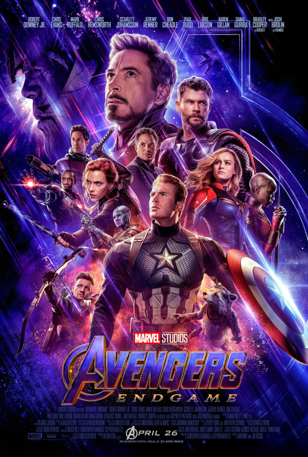 None - Avengers: Endgame Movie Tickets