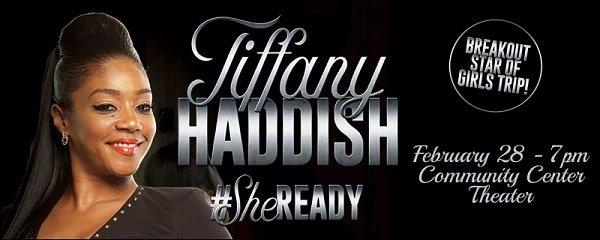 None - Win Tiffany Haddish Tickets!