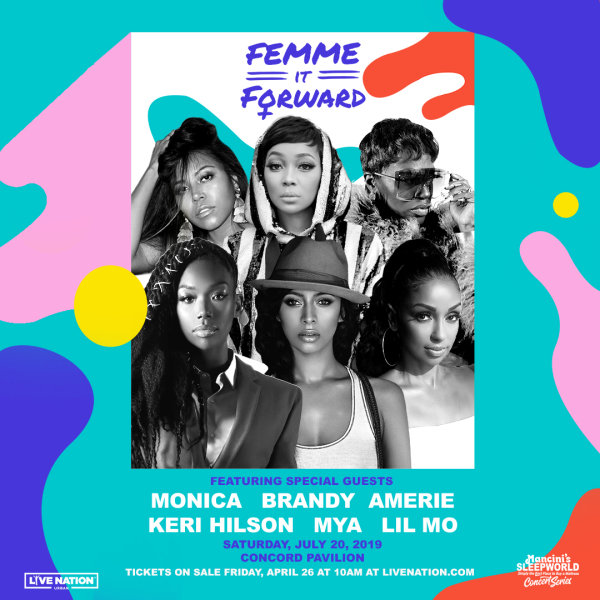 None -  Win a pair of tickets to Femme It Forward Tour!