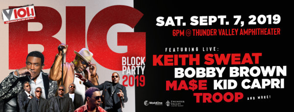 None - Win V101 Big Block Party Tickets!